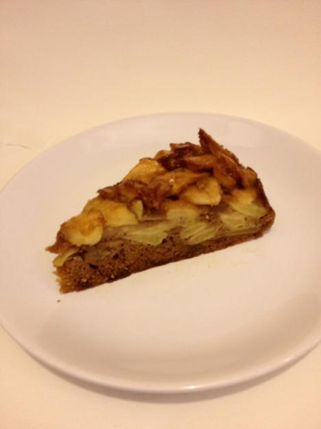 torta di mele con cannella e liquore