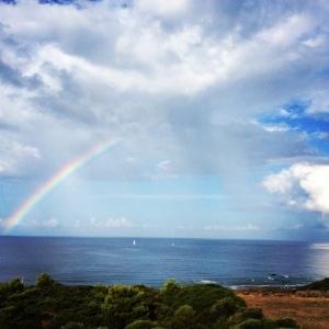 arcobaleno ad Alghero (SS)